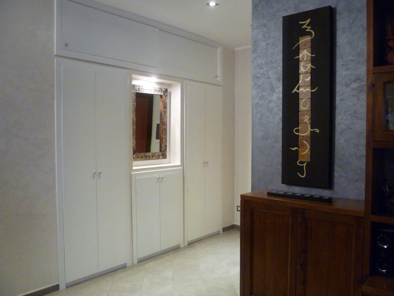 Armadio a parete parete porta cabina armadio soluzione - Ikea armadi a muro ...